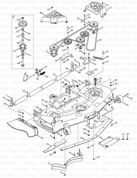 cub cadet mower deck parts diagram cub cadet gt1554 14ak13ck010 cub cadet garden tractor