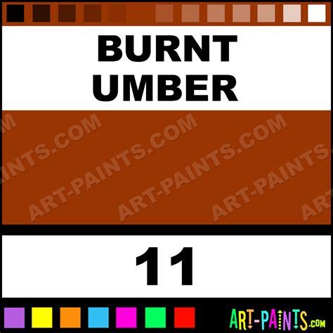 color umber burnt umber designer gouache paints 11 burnt umber