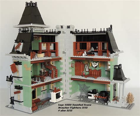 Lego 10228 Huanted House lego fighters 10228 haunted house flickr photo
