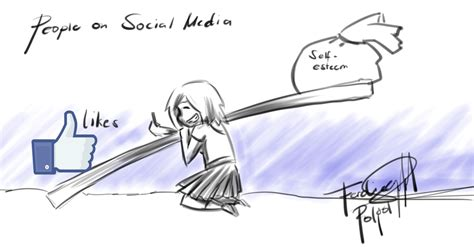 thesis about social media and self esteem social media and self esteem by hymaster on deviantart
