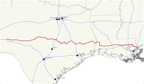hwy map of texas new interstate highway in central texas could an impact on houston houston media