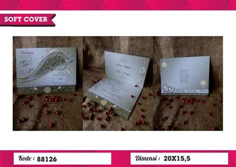 Ready Undangan Pernikahan Era Baru 88126 Undangan Nikah undangan soft cover erba 88126 erba soft cover juragansouvenir