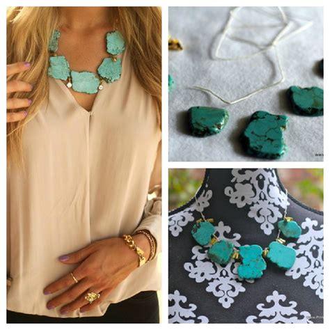 pinterest diy pinterest inspiration diy turquoise necklace thank you