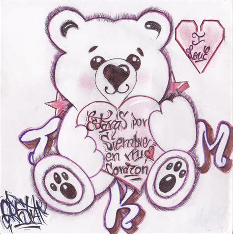 graffitis de corazn graffitis estar 193 s por siempre en mi coraz 211 n