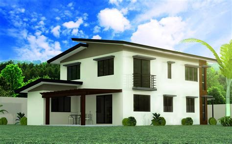 a 1 story house 2 bedroom design model 5 4 bedroom 2 story house design negros
