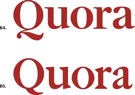 logo design quora how is the new quora logo different from the old one