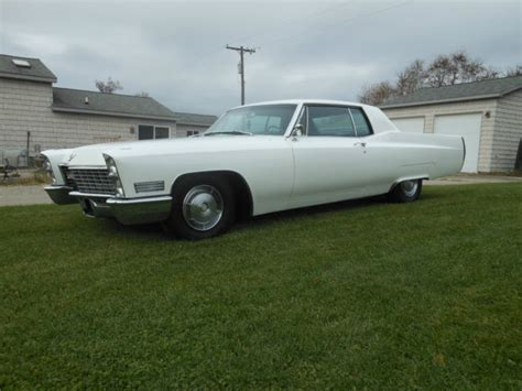 Cadillac Pearl White Paint by 1967 Cadillac Coupe Pearl White For Sale