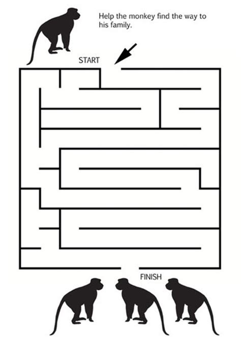 Maze Puzzle Parents Of The Animal printable animal mazes my kid craft