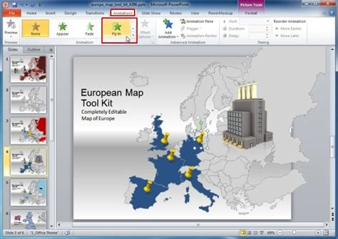 create animated videos online with our video templates europe map template for powerpoint presentations