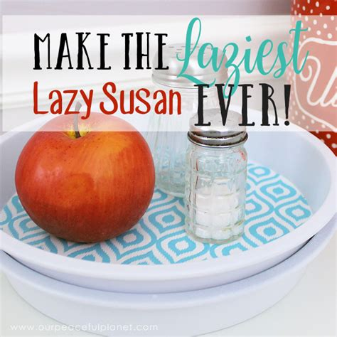 how to make a lazy susan for a kitchen cabinet how to make the laziest diy lazy susan ever