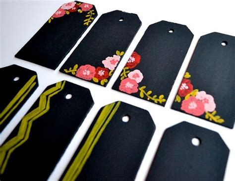 chalkboard paint name tags chalkboard gift tags gift giving tips and ideas