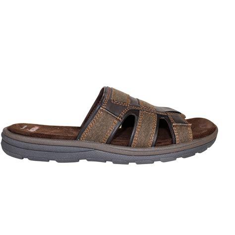 on sandals wrangler mens slide sandal flip flop slip on slipper