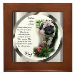 Pug Favors by Pug Gifts Framed Tile By Shopspringdale