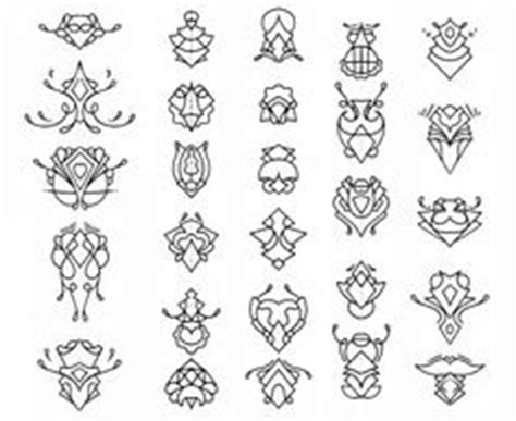 geometric tattoo chiang mai protection symbol tattoos the angel motif for