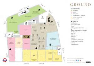 harrods floor plan harrods the store guide