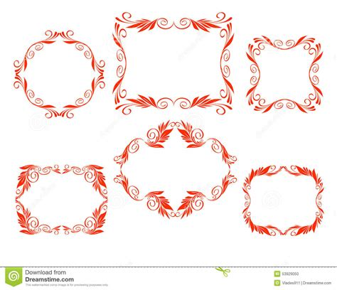 how to create a vector decorative frame in illustrator vector decorative frames stock vector image of graphic