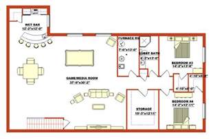 floor plans for basements lovely basement blueprints finished walk out basement