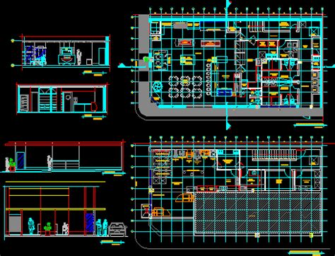 bakery dwg section  autocad designs cad