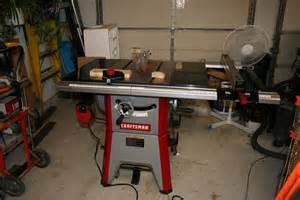review craftsman 10 contractor table saw model 21833