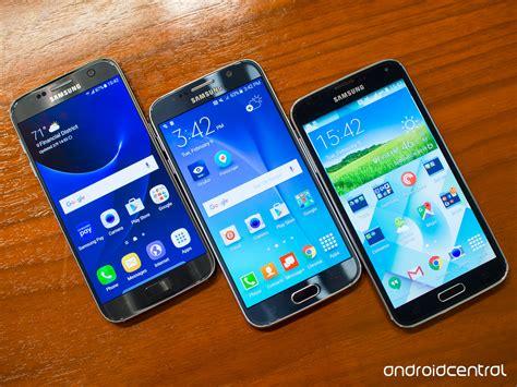 galaxy s5 spec comparison galaxy s7 vs galaxy s6 vs galaxy s5