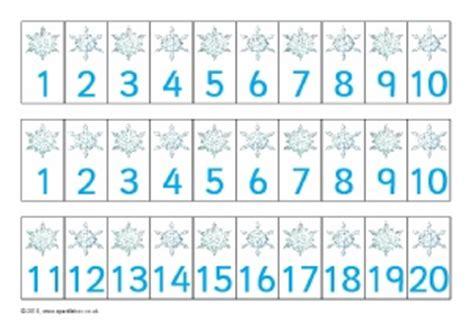 printable numbered snowflakes winter season primary teaching resources and printables