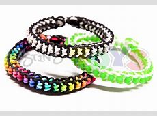 How to Make a Boxed Bow Bracelet - EASY design on the ... Rainbow Loom Bow Tie Bracelet