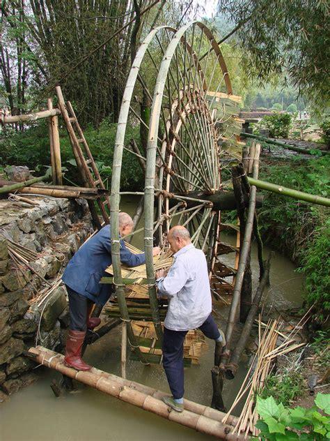 Kincir Hamster Wheels utilisations industrielles du bambou site de 2bamboo