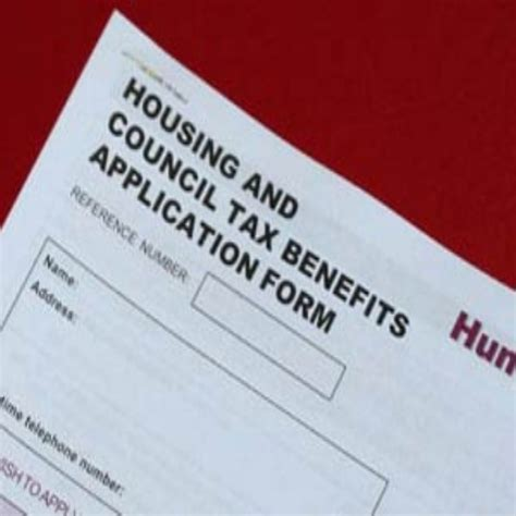 housing benefit application form application form housing benefit