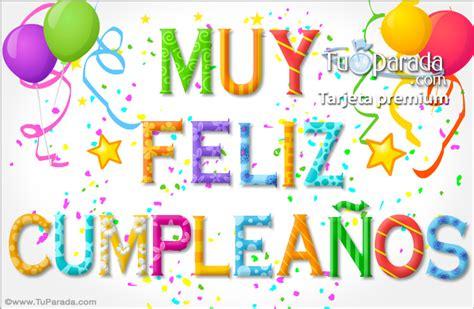 imagenes alegres de feliz cumpleaños saludo de cumplea 241 os mandarsaludos com