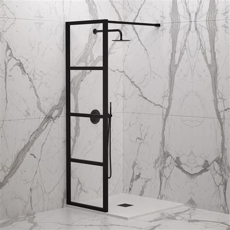 industrial complete walk  shower enclosure kit