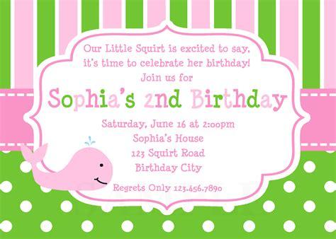 birthday invitations for girls birthday invitations for girls and