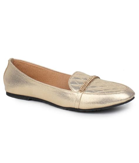 sindhi footwear stunning gold casual shoes price in india