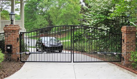 Automatic Door Systems Nj - roselle nj driveway gates security gates n j local