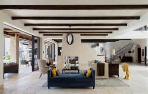 Incroyable Interieur Maison Moderne Photos #5: grand-sejour-rustique-ranch-americain.jpg