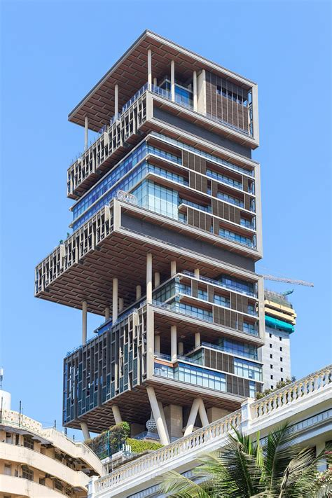 ambani house mukesh ambani house mumbai home design