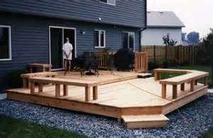 small backyard decks small deck my new house pinterest