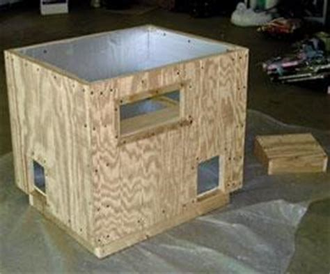 How To Made Feral Cat House Plans Woodworking Online Lessons Blueprints Blueprints