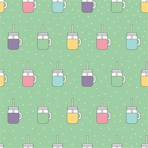 Juice Pattern Vector | fruit juice pattern design vector free download