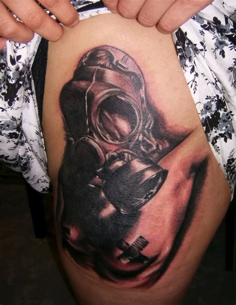 gas mask tattoo gallery gas mask