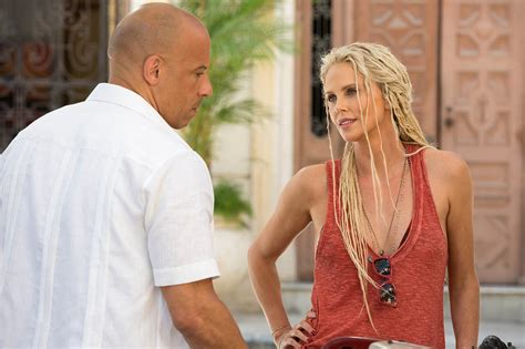 fast and furious 8 in egypt foto charlize theron y vin diesel en fast 8 cinedor