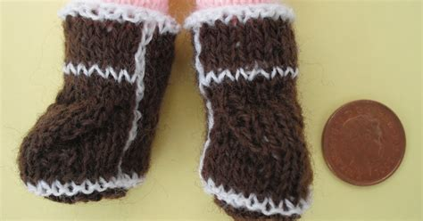 baby knitted ugg boots bitstobuy not just knitted baby ugg boots but tiny tiny