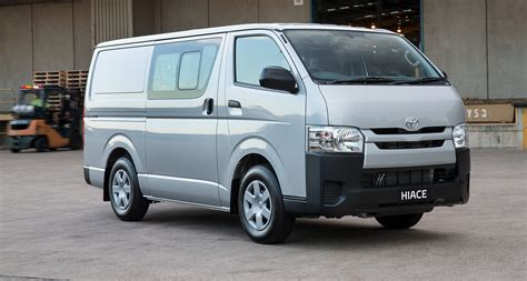Toyota Hiace 2016 2016 Toyota Hiace Update For Australia Brings 5