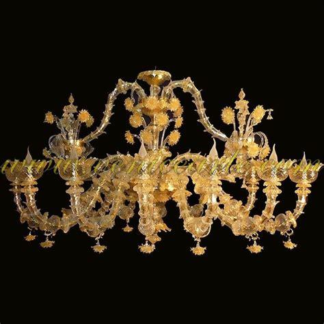 kronleuchter gold rezzonico gold kronleuchter aus murano glas
