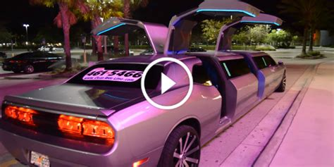 Lemozine Cars by Car Icon As A Dodge Challenger Limo