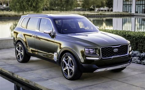 kia telluride concept wallpapers  hd images