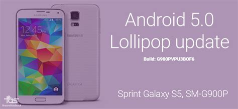 sprint android update sprint galaxy s5 android 5 0 2 update g900pvpu3bof6 direct link and install
