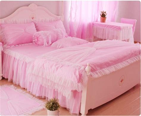 pink comforters queen aliexpress com buy luxury lace bedspread princess