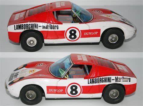 Lamborghini Race Cars Asakusa Japan 60 S Lamborghini Miura Race Car N 186 8 A 1107
