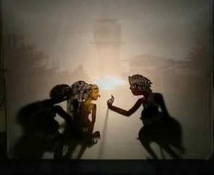 The Shadow Puppet Mantia Biru punokawan doovi