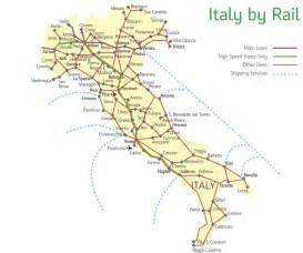 Italy Rail Map italy train tickets